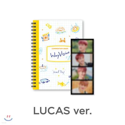 [WayVision] WayV_LUCAS_코멘터리북+필름SET