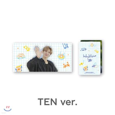 [WayVision] WayV_TEN_플립북+포토카드SET