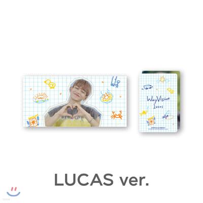 [WayVision] WayV_LUCAS_플립북+포토카드SET