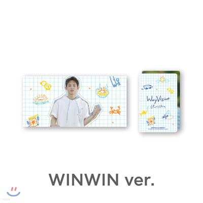 [WayVision] WayV_WINWIN_플립북+포토카드SET