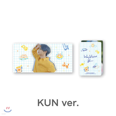 [WayVision] WayV_KUN_플립북+포토카드SET