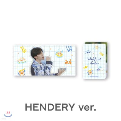 [WayVision] WayV_HENDERY_플립북+포토카드SET