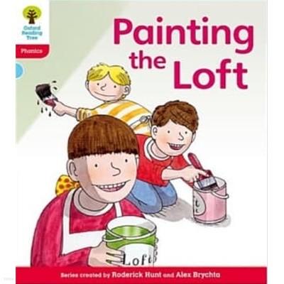 Oxford Reading Tree: Level 4: Floppy's Phonics Fiction: Painting the Loft (Paperback)