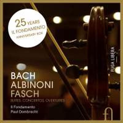 알비노니: 8개의 오보에 협주곡 & 바흐: 관현악 모음곡 전집 (Albinoni: 8 Oboe Concertos & Bach: Orchestral Suites Nos.1 - 4, Bwv1066-1069) (4CD) - Paul Dombrecht