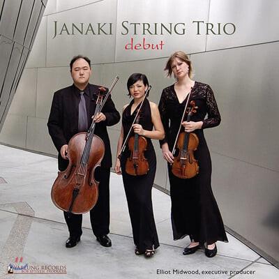 Janaki String Trio 펜데레츠키 / 바라바: 현악 삼중주 (Debut)