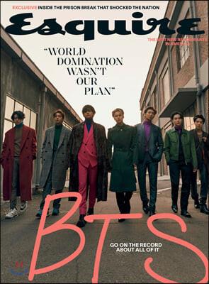 Esquire USA (월간) : 2020년 12월 Winter : BTS (방탄소년단) 커버