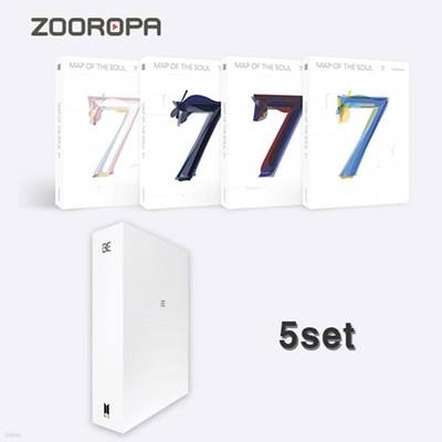 [미개봉/5종세트] 방탄소년단 BTS BE MAP OF THE SOUL 7