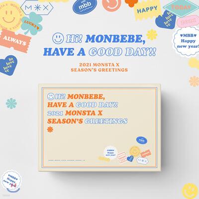 몬스타엑스 (MONSTA X) 2021 시즌그리팅
