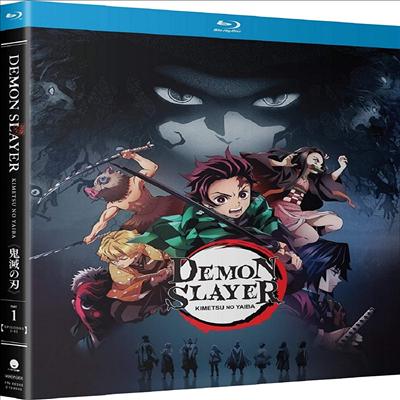 Demon Slayer: Kimetsu No Yaiba - Part 1 (귀멸의 칼날 - 파트 1)(한글무자막)(Blu-ray)