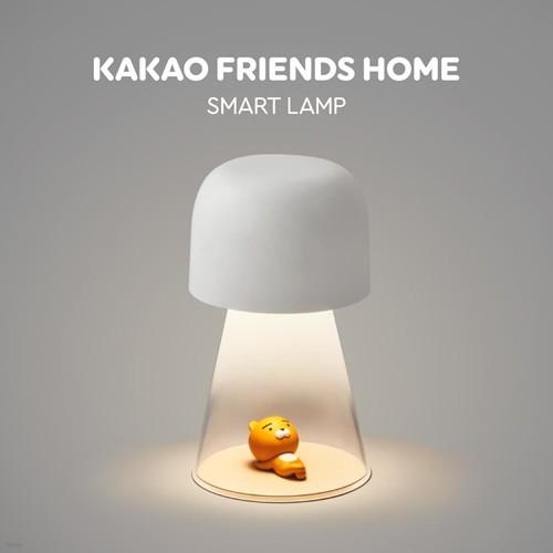 카카오프렌즈 홈 스마트 램프 라이언 [ IOT전용APP / 구글 홈 연동기능 / 무드등 / 스마트터치]