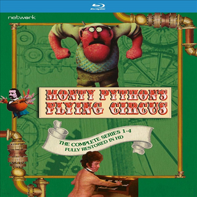 Monty Python's Flying Circus: The Complete Series 1-4 (몬티 파이튼 비행 서커스: 더 컴플리트 시리즈 1-4)(한글무자막)(Blu-ray)