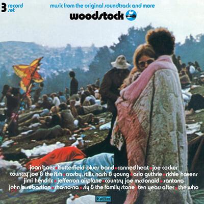 우드스탁 다큐멘터리 영화음악 (Woodstock OST by Various Artists) [3LP]