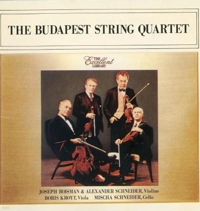 부다페스트 현악사중주단 - 베토벤: 현악사중주곡 vol.II  2×CD