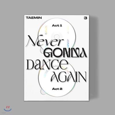 태민 (Taemin) - 3집 합본 Never Gonna Dance Again [Extended Ver.]