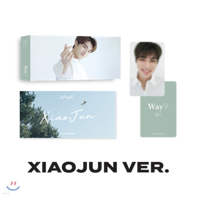 [WayV] [XIAOJUN] 플립북+포토카드 SET