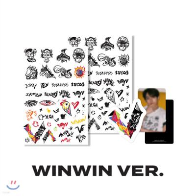 [WayV] [WINWIN] 타투+러기지스티커 SET