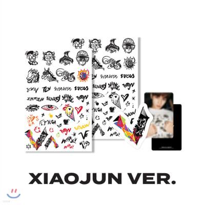 [WayV] [XIAOJUN] 타투+러기지스티커 SET
