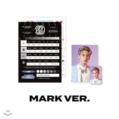 [MARK] NCT 스크랩북 데코스티커+포토 SET NCT : RESONANCE [GLOBAL WAVE] Beyond LIVE