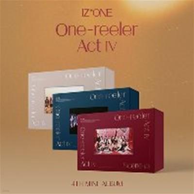 [미개봉] [세트] 아이즈원 (IZ*ONE) / One-reeler / Act IV (4th Mini Album) (Scene #1+Scene #2+Scene #3 Ver)