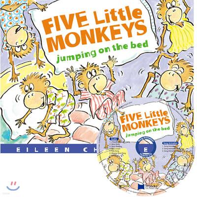 [노부영 세이펜] Five Little Monkeys Jumping on the Bed (원서 & 노부영 부록 CD)