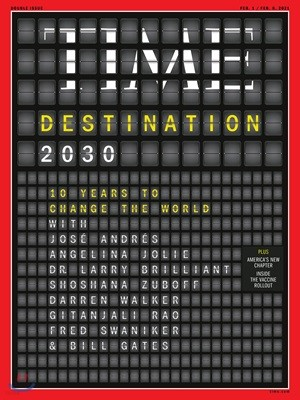 Time (주간) - Asia Ed. 2021년 02월 01일