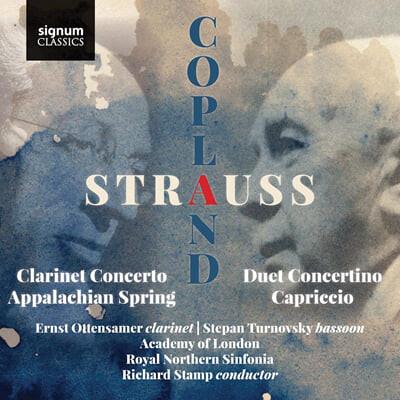 Ernst Ottensamer 슈트라우스: 클라리넷과 바순을 위한 2중 협주곡 (R.Strauss: Duet Concertino for Clarinet and Bassoon)