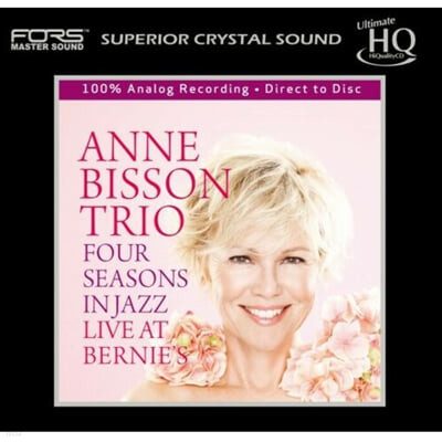 Anne Bisson Trio (앤 비송 트리오) - Four Seasons In Jazz Live At Bernie's
