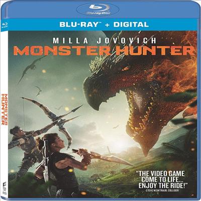 Monster Hunter (몬스터 헌터) (2020)(한글무자막)(Blu-ray)