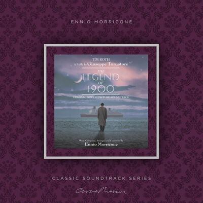 피아니스트의 전설 영화음악 (The Legend of 1900 OST by Ennio Morricone 엔니오 모리꼬네) [스모크 컬러 LP]