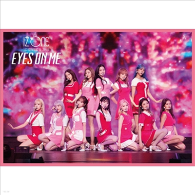 아이즈원 (IZ*ONE) - 1st Concert In Japan (Eyes On Me) Tour Final -Saitama Super Arena- (2Blu-ray)(Blu-ray)(2021)