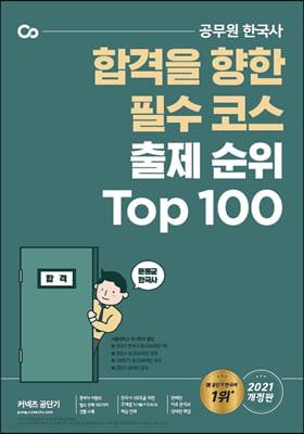 2021 문동균 한국사 출제 순위 Top 100