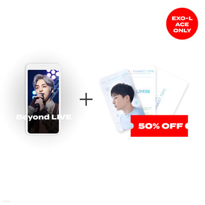 [EXO-L ACE ONLY] [PHOTO VER] Beyond LIVE 관람권 + SPECIAL AR TICKET SET 2021 ON : XIUWEET TIME
