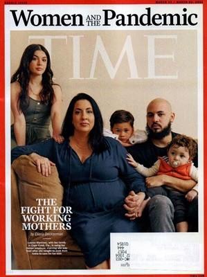 Time (주간) - USA Ed. 2021년 03월 15일 (랜덤 커버)