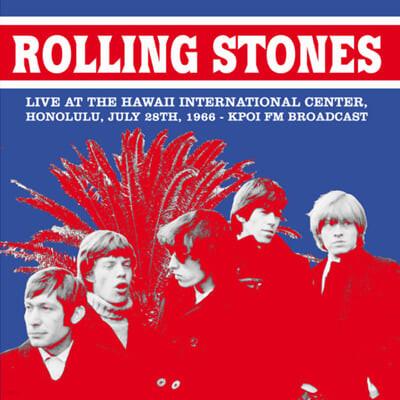 The Rolling Stones (롤링 스톤스) - Live At The Hawaii International Center, Honolulu, July 28 1966 : KPOI FM Broadcast [LP]