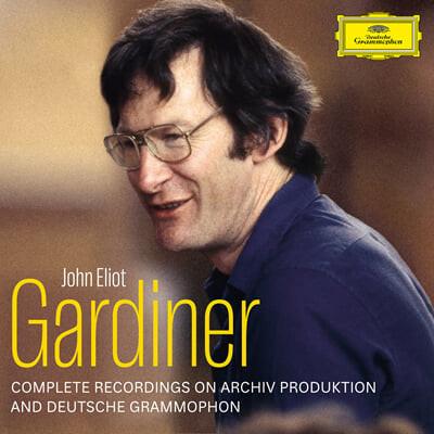 존 엘리엇 가디너 Archiv & DG 전집 (Sir John Eliot Gardiner - Complete Deutsche Grammophon & Archiv Produktion Recordings)