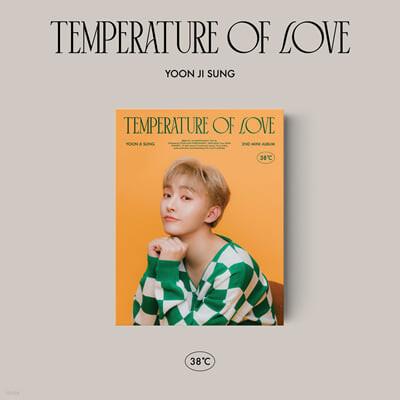 윤지성 - 미니앨범 2집 : Temperature of Love [38℃ ver.]