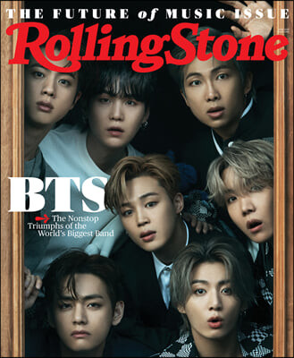 Rolling Stone (월간) : 2021년 06월 BTS 방탄소년단 커버