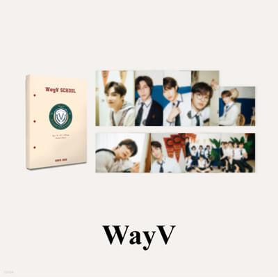 [WayV] 2021 BSK HARD COVER POSTCARD BOOK