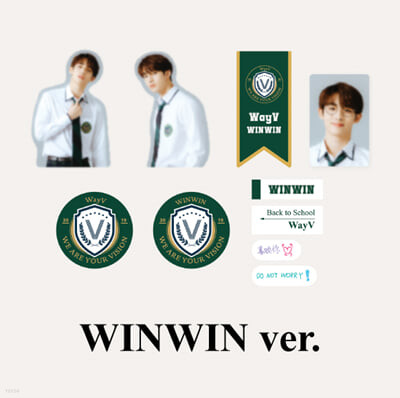 [WayV_WINWIN] 2021 BSK LUGGAGE STICKER+PHOTO CARD SET