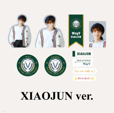 [WayV_XIAOJUN] 2021 BSK LUGGAGE STICKER+PHOTO CARD SET