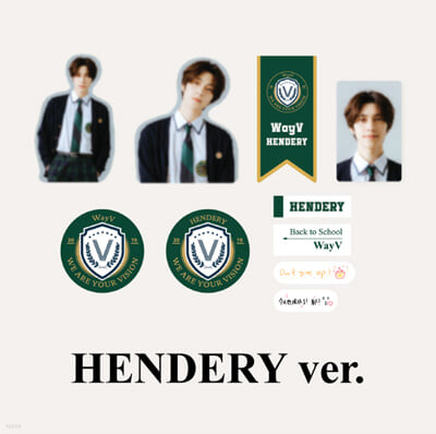 [WayV_HENDERY] 2021 BSK LUGGAGE STICKER+PHOTO CARD SET