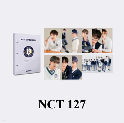 [NCT 127] 2021 BSK HARD COVER POSTCARD BOOK