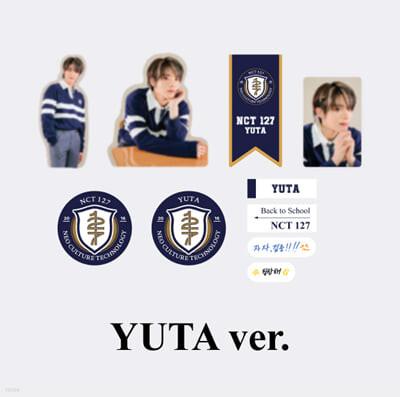 [NCT 127_YUTA] 2021 BSK LUGGAGE STICKER+PHOTO CARD SET