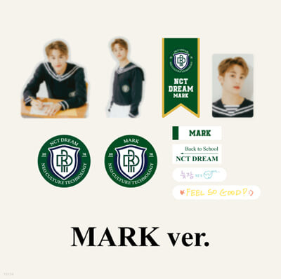 [NCT DREAM_MARK] 2021 BSK LUGGAGE STICKER+PHOTO CARD SET