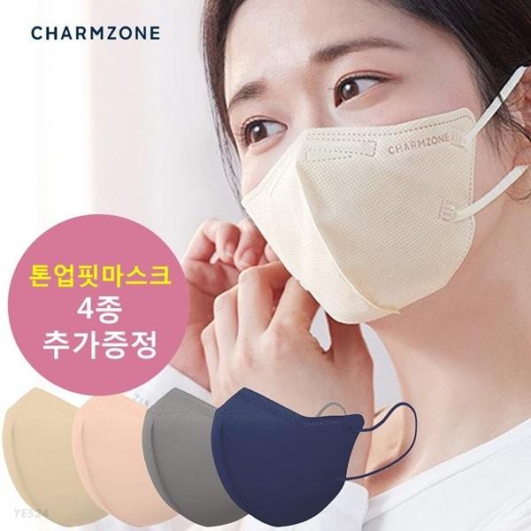 참존 톤업핏 마스크 25매 + 사은품 4매 추가증정