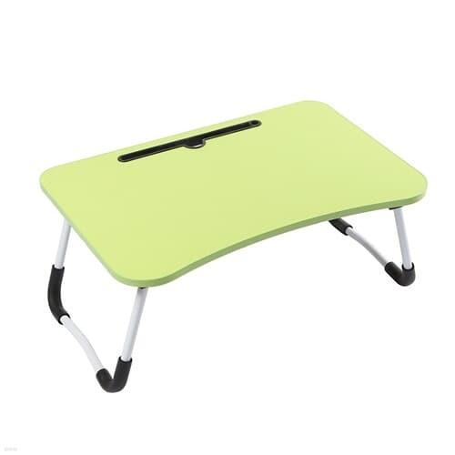 홈드림 접이식 좌식 책상(그린) 침대 노트북 테이블
