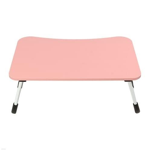 베이직 접이식 좌식 책상 낮은 노트북 테이블 핑크