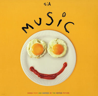 Sia (시아) - 9집 Music: Songs From And Inspired By The Motion Picture [LP]