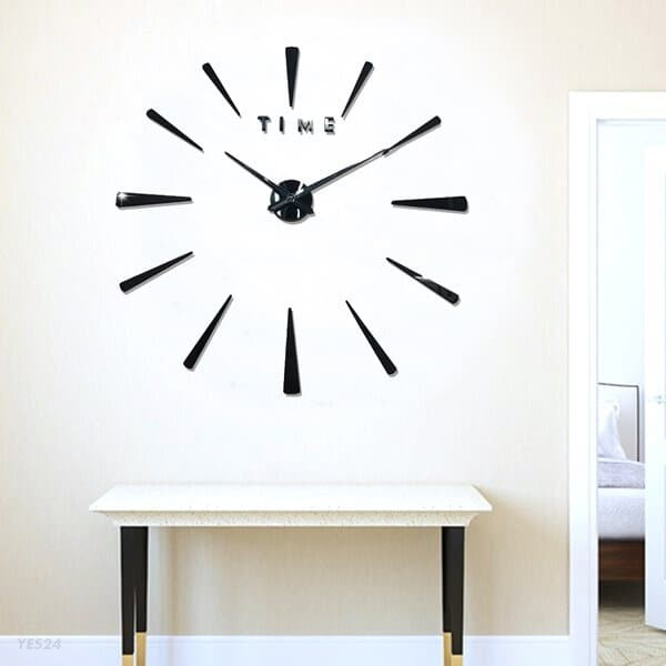 DIY 와이드 벽시계/인테리어벽시계 무소음시계
