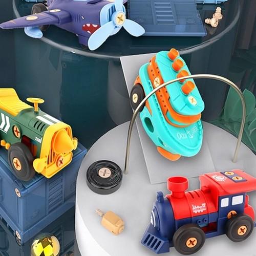 레츠토이 DIY 전동 레트로 만들기 유아 공구놀이...